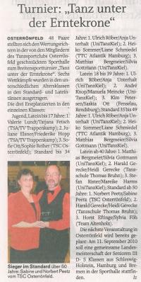 Landeszeitung 09.11.2009