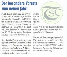 Kanalblatt 12/2014