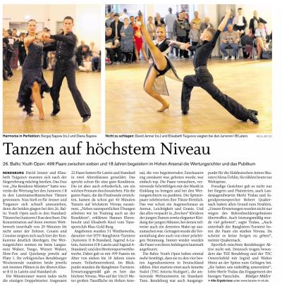 Landeszeitung 26. November 2015